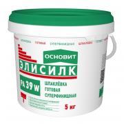 Шпаклевка готовая суперфинишная Основит ЭЛИСИЛК РА39 W (5 кг)