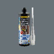 MAPEFIX PE SF cartridges, химический анкер на базе полиэфирной смолы без стирола для тяжелых нагрузок, 12*300 мл