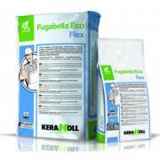 Затирка минеральная Kerakoll Fugabella Eco Flex, с цветостойкостью, цвет Антрацит-05, 25 кг