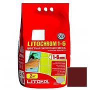 Затирка цементная Litokol Litochrom 1-6 С.200 венге 2 кг