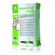 Стяжка Kerakoll Record Eco Pronto высокопрочная, эко-совместимая, минеральная, сверхбыстросохнущяя, 30 кг Kerakoll Record Eco Pronto