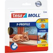 Резиновый уплотнитель tesa премиум р-профиль коричневый 05390-00103-00