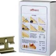 Клипсы для плинтусов Tecnorivest (Текноривест) Clip System с крепежом (упак. 50 шт. на 20-25 п.м)