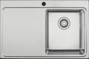 Мойка Longran Techno TEP780.510 -GT10P 1R/2L полированная сталь