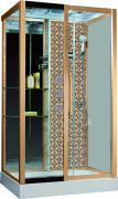 Душевая кабина Niagara Lux 7713G L/R золото