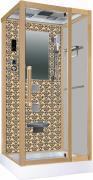 Душевая кабина Niagara Lux 7718G L/R золото