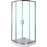 Душевой уголок Aquanet Alfa 100х100х200 стекло прозрачное, хром R550 (NAA2142)