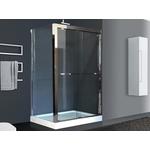 Душевой угололок Royal Bath 140x80 прозрачный, зеркальный глянец, правый (RB-L-2011-1400-8R)