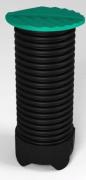ЭкоПром Колодец дренажный Rostok(Росток) 1.5 м черный