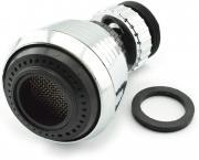 Кухонный водосберегающий кран, поворачивается на 360 градусов, переходник для фильтра насадки смесителя
