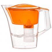 Фильтр кувшин без индикатора Барьер Танго цвет оранжевый с узором 2.5 л