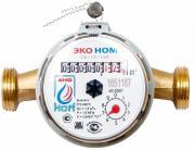 Счетчик воды универсальный ЭКО НОМ-15-110 без комплекта монтажных частей - 20 шт.