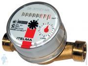 Счетчик Itelma для горячей воды DN15 L=110, 1,5 м3/ч, без штуцеров, ИС.160005