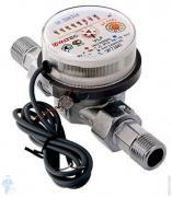 """Счетчик для горячей и холодной воды Valtec VLF-15U-I 1/2"""" L=80мм Tmax=90*C 1,5м3 с импульс.выходом"""