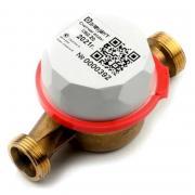 Счетчик воды Элехант СВД Ду 20 водосчетчик на воду холодной горячей водяной бытовой универсальный дистанционный умный дом Bluetooth