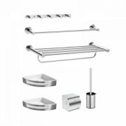 Набор для ванной комнаты Xiaomi Brushed Stainless Steel Bathroom Pendant 7 Set (DMGJTZ002)