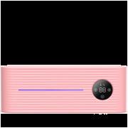 Умный держатель для зубных щеток с дезинфекцией Xiaomi Sothing UV Light Toothbrush Sterilizer Holder Розовый