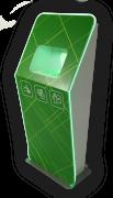 Бесконтактный напольный дезинфектор для рук 1ART-GROUP 1APT-H. Емкость бака антисептика - 10л. 1APT-H