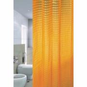Шторка для ванной ZALEL 3D арт. 3D-002 180х180 оранжевая 455634