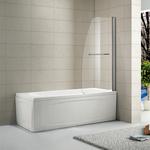 Шторка на ванну Alvaro Banos Vitoria 75 прозрачная, хром (VITORIA G75.11 Cromo)
