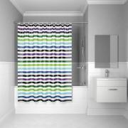 Штора для ванной комнаты iddis, 180*180см, полиэстер, p18p118i11
