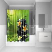 Штора для ванной комнаты Iddis 180*200 см Spa Therapy 680P18Ri11