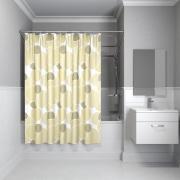 Штора для ванной комнаты Iddis 200*240 см cream balls 230P24RI11