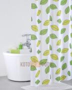 Штора для ванной комнаты из полиэстера Iddis Bean Leaf 200P24RI11