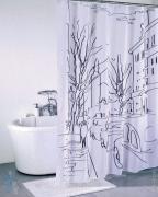 *Штора для ванной комнаты IDDIS 200х180см, полиэстер, Street Line SCID170P