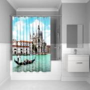 Штора для ванной комнаты Iddis 180*200 см Venice moments Blue 540P18Ri11