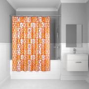 Штора для ванной комнаты Iddis 200*240 см orange toffee 280P24RI11