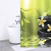 *Штора для ванной комнаты IDDIS 200х180см, полиэстер, Spa Therapy, 680P18Ri11