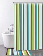 *Штора для ванной комнаты IDDIS 200х200см, полиэстер, Raguza Fields 199P200i11