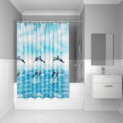 Штора для ванной комнаты IDDIS Promo PEVA 180*180см (P21PV11i11)