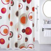 "Штора для ванной Milardo ""Lovely Phantom"", цвет: мультиколор, 180 x 180 см"