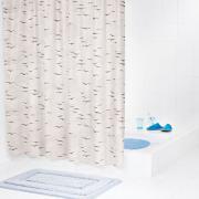 Штора для ванных комнат Sylt бежевый/коричневый 180*200
