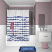 Штора для ванной комнаты Iddis 180*180см P11PV11i11