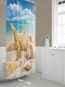 Штора для ванной Купить Шторы для ванной «Роуки» по цене 2390 руб. с доставкой по Москве и России - интернет-магазин «ТомДом»