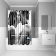 Штора для ванной комнаты Iddis 200*180 см romance SCID160P