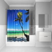 Штора для ванной комнаты Iddis 180*200 см Maldivian 630P18Ri11
