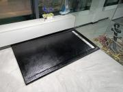 Поддон для душа искусственный мрамор WW TRS 10080 STONE-BL Черный. Размер 1000х800х30 мм Душевой поддон+СИФОН (2 кор.)