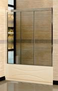 Шторка на ванну RGW SC-41 160*150 Хром/Прозрачное 04114116-11