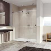 Душевая дверь Huppe Aura elegance 401413.092.321 (левая, 1100х2000 мм)