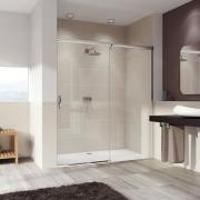 Душевая дверь Huppe Aura elegance 401514.092.321 (правая, 1200х2000 мм)