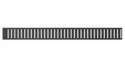 Решетка для душевого лотка AlcaPlast PURE-300BLACK