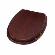 Сиденье с крышкой для унитаза Simas LANTE LA009 орех/бронза