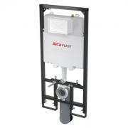 Инсталляция для подвесного унитаза AlcaPlast Sadromodul Slim AM1101/1200 (глубина 84 мм)(AM1101/1200-001)