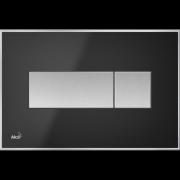 Кнопка управления AlcaPlast чёрная матовая M1375