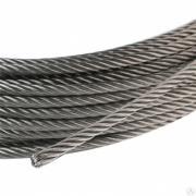 Трос стальной 5,6 мм ГОСТ 3066-80 PTK-Accessories ПожТехКабель