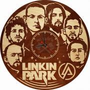 Часы настенные «Linkin Park» (Деревянные настенные часы)